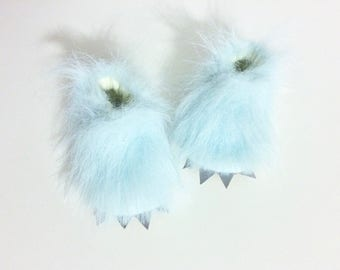 Monster Baby Abominable Snowman Shoes Baby Shower