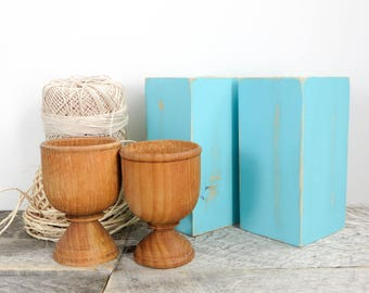 Turquoise Salt And Pepper Shakers