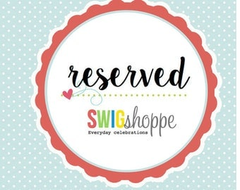 Reserved for Katie Asher  Personalized custom flag design and 18  pages printed (216 flags), printed on Kraft colored Cardstock