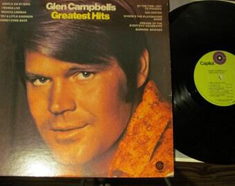 20% OFF EASTERSALE Vintage Glen Campbell Albums Total of Nine