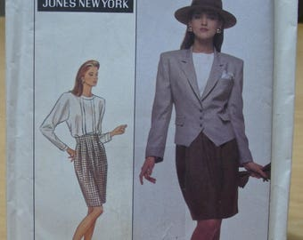 Free shipping! Simplicity 8797 Suit with shirt, jacket and skirt. Size 18 UNCUT sewing pattern