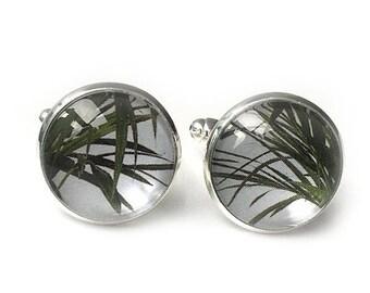 Palm cufflinks
