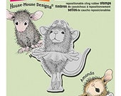 Stampendous, House Mouse Stamp, Ballerina, Card Making, Paper Craft, Baby Stamp