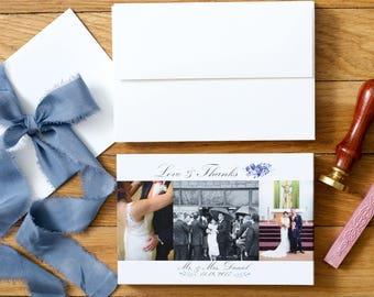 Wedding Thank You Cards - Photo Thank You Cards - Wedding Thank You's - Set of 100