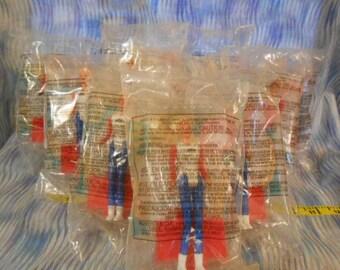 Ten McDonald 1995 U.S.A.  Barbie Party Favors