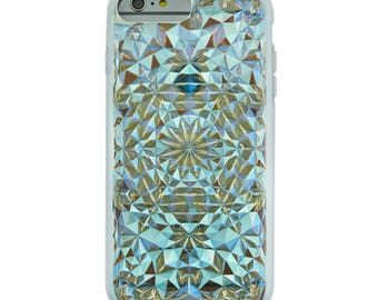 Clear Cosmic Holographic Iridescent Kaleidoscope iPhone 6/6s+ Plus Case