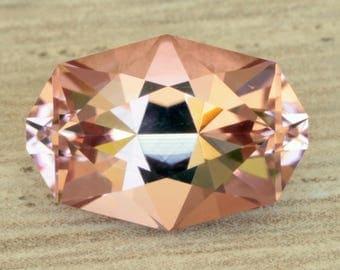2.70 Carat Pink Congolese Tourmaline Gemstone Precision Cut Gem