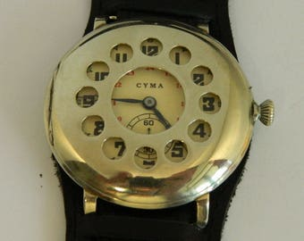 Rare Swiss watch CYMA #274