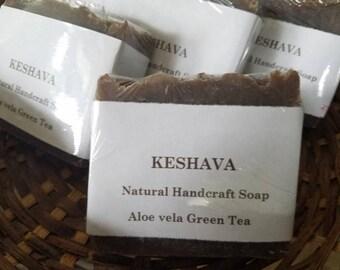 Aloe with green tea soap