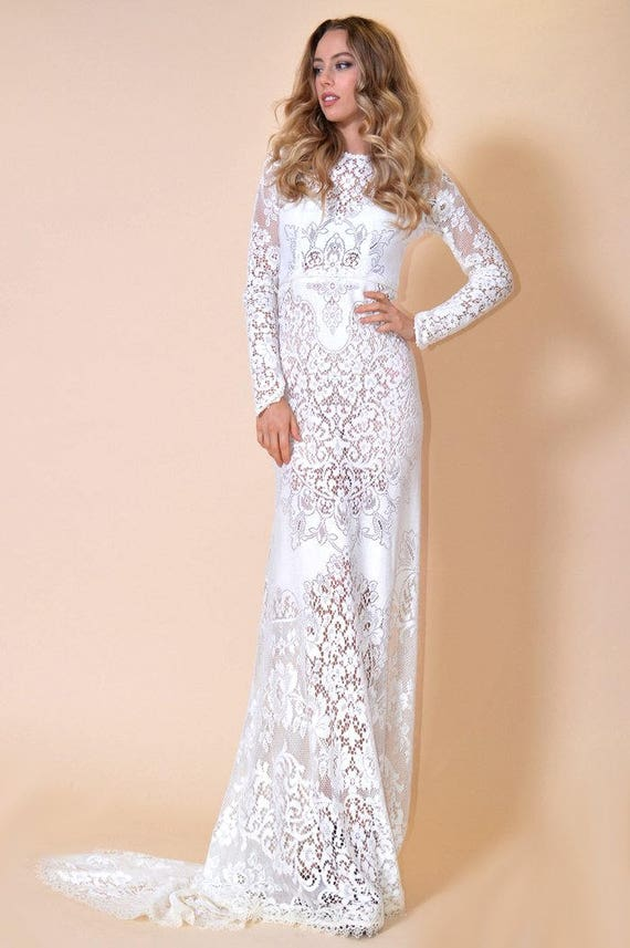 Vintage Lace Wedding Dresses by Saldana Vintage - Wedding Wikii