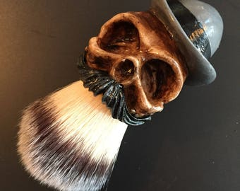 Bowlerhat Shaving Brush (Gray)
