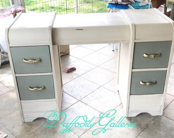1920 Upscaled Vanity - ASCP Country Grey & Chateau Grey