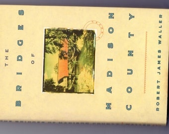 The Bridges of Madison County by Robert James Waller 1992, HC book_vintage 90s