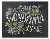 It's A Wonderful Life - Print