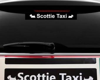 Scottie Dog 'Scottie Taxi' Vinyl decal
