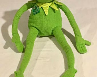 Kermit the Frog | 30th  Anniversary  Bendable Legs Arms | Sings | Talks | Jim Henson  Muppets | Collectible | Battery Operated