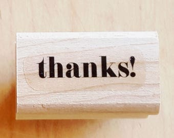 Thanks! Rubber Stamp retired from Stampin Up