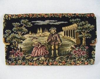 Vintage 60's Tapestry Wallet