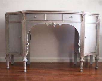 SOLD ***French Grey Vanity/Desk