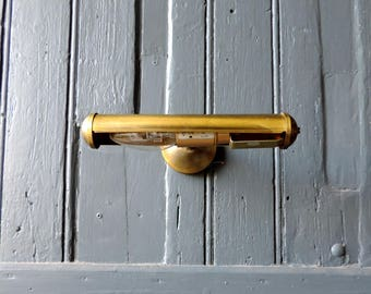 Vintage French brass wall lamp, sconce, wall light