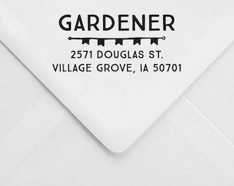 Whimsical Address Stamp