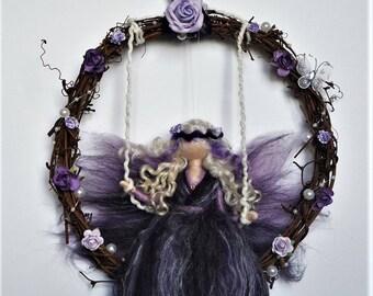 Needle felted wool #fairy