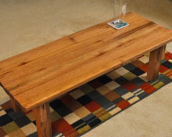 Red Oak Coffee table, 44 inches