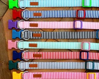 Classic Stripe Dog Collars