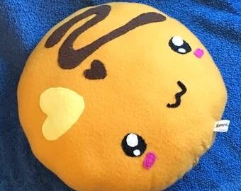 Cute Pancake Food Plushie / Plush Toy / Breakfast Pillow