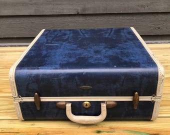 Vintage Samsonite luggage Train Case