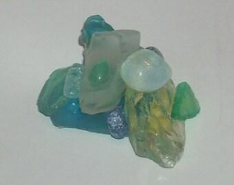Beachglass Paperweight
