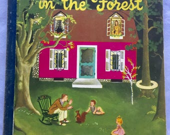 The New House in the Forest, Eloise Wilkin, 1946 First Edition, HTF Child Book, Bank Street Book NYC