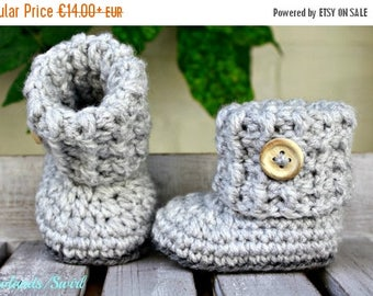ON SALE Baby booties, crochet shoes crochet, crochet baby, baby shoes, baby