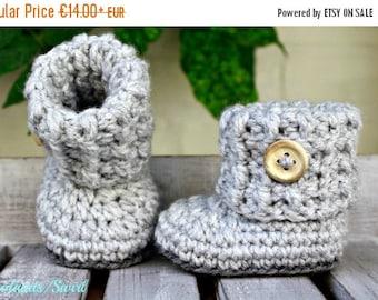 ON SALE Baby booties, crochet shoes crochet, crochet baby, baby shoes, baby
