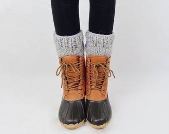 SALE Knit Boot Cuffs Wool Boot Warmers Boot Toppers | THE ONTARIOS