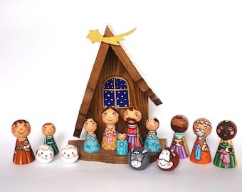 Nativity Sets Etsy