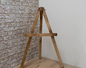 Rustic Wedding - Wooden Display Easel