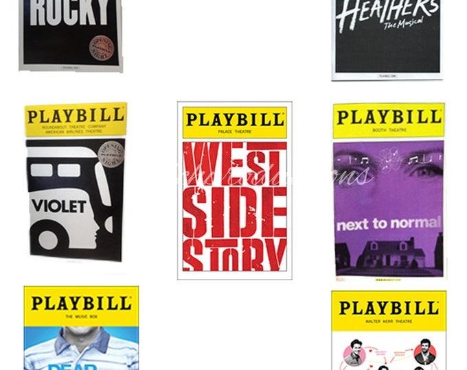Broadway Musical Keychains