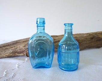Wheaton Bitters Bottle ~  Collectible , Miniature  Bottle - set of 2.