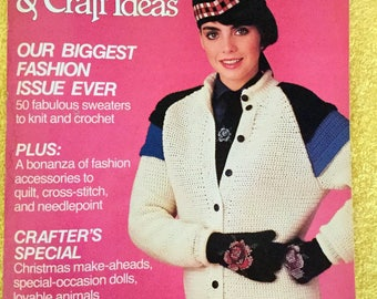 Better Homes and Gardens Creative Ideas, 100s of Needlework and Craft Ideas 1984