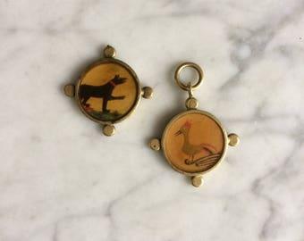 David Urso Handmade Pendant & Charm, Brass