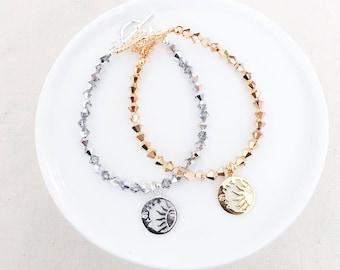 Limited Edition - Dainty Sun & Moon Bracelet