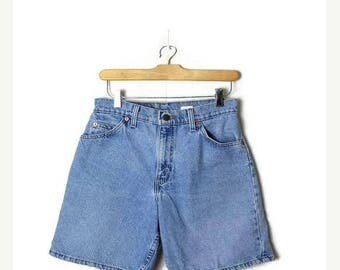 ON SALE Vintage LEVI'S 951 Blue Denim Shorts from 80's/W26*