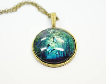 Necklace Forest Tree