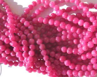 12 plum 6 mm (6-6) colorful agate beads