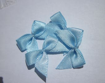 4 nodes in satin 20 to 21 mm approx - stitched fabric - (A281)