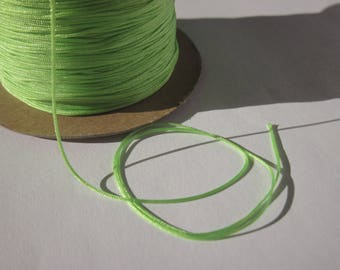 5 meters of cotton thread colored jewel 0.6 mm approx - (C20