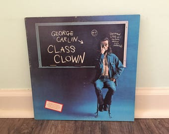 "George Carlin ""Class Clown"" vinyl record"