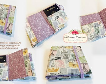 Family Passport Holder, Family Passport Wallet, Passport Wallet, Passport Cover, Passport Holder, Passport Case, Boarding pass wallet,
