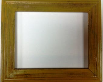 """1-3/4"""" Pale Gold Distressed Picture Frame"""